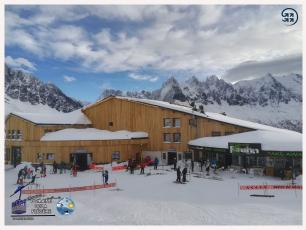 The Flegere ski domain is open, photo source @www.facebook.com/telepheriquedelaflegere