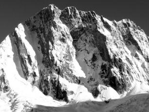 Mont Blanc massif: the Grandes Jorasses