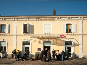 La Roche sur Foron rail station