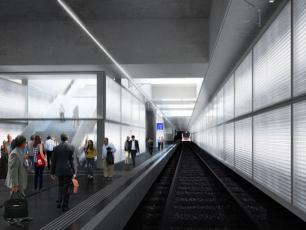 Geneva Eaux-Vives will be replaced by an underground station