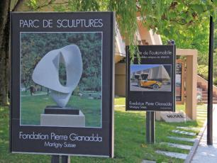 Parc de sculptures Fondation Pierre Gianadda