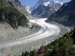 Chamonix and the Mer de Glace