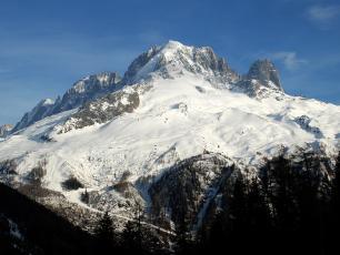 La Verte, Les Drus et le Domaine Skiable des Grands Montets