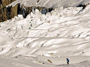Катание на лыжах в на горнолыжном курорте Гран Монте