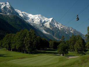 Chamonix Golf Course Copyright @ Ten80 Events