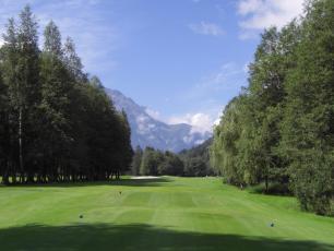Terrain de Golf à Chamonix Mont Blanc