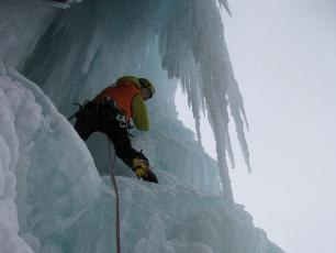 Cogne Valley Ice Falls - Ice Climbing