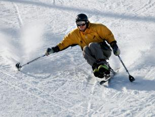 Skiing for Disabled
