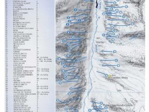 Cogne Valley Ice Falls - Ice Climbing - Lillaz Map