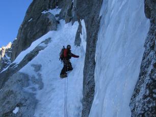 Voie Mixte Chamonix Mont Blanc - Fil à Plomb