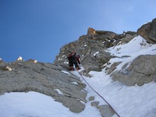 Voie Mixte Chamonix Mont Blanc - Face Nord Aiguille du Midi