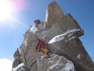 Voie Mixte Chamonix Mont Blanc - Arête des Cosmiques