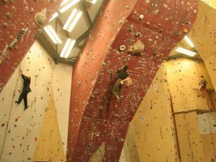 Indoor Climbing In Chamonix