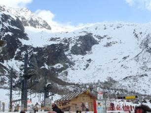 View of La Vormaine Ski Area