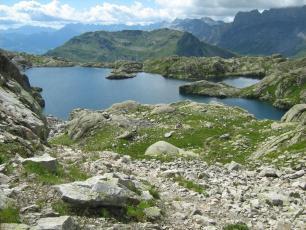Lac Cornu - Reserve naturelle des Aiguilles Rouges
