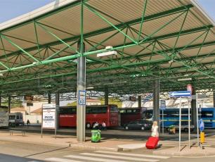 Lampugnano Bus Station Milan