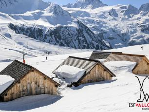 The Le Tour Balme Vallorcine ski area