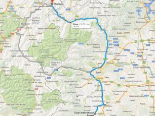 Levaldigi Airport to Chamonix Mont-Blanc