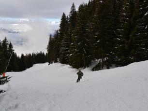 Долина Шамони - вид с горнолыжного курорта Лез Уш