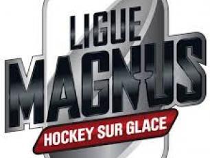 Logo du Championnat Français de Hockey sur Glace ou la Ligue Magnus