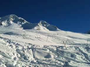 Powder day in le Tour/Balme Ski Resort
