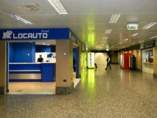 Milan Malpensa Locauto Car Hire Company in Terminal 1