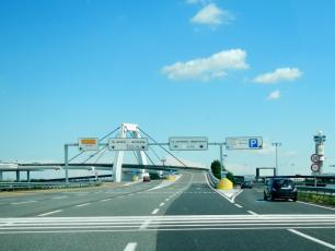 Milan Malpensa Airport road to Terminal 1