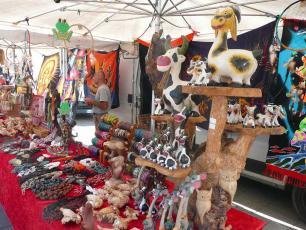 Stand in Chamonix Market