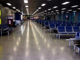 Milan Linate Airport Waiting Room