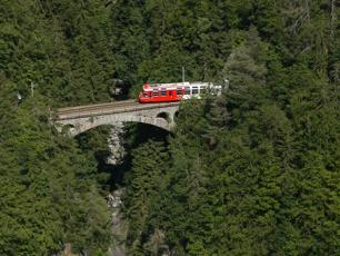 Mont Blanc Express Train Swizterland