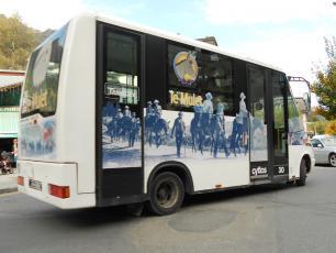 Ле Муле - бесплатный автобус центра города Шамони