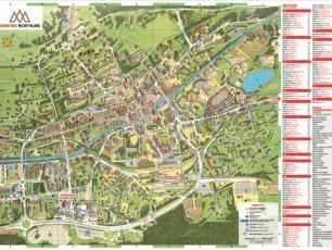 Nouvelle carte de la ville de Chamonix 2019