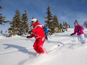 Le domaine skiable Les Houches