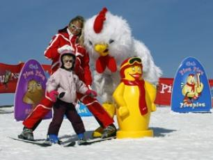 Skiing for young children Copyright @ Les Houches