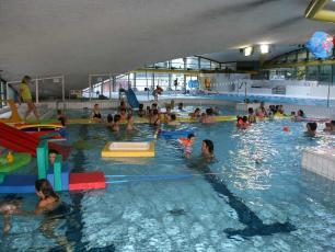 La piscine des enfants à Chamonix Mont Blanc