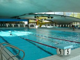 The Richard Bozon Chamonix Sports Center indoor pool
