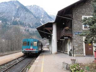 Pre Saint Didier Rail staion