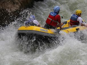 Rafting and White Water Sports in Chamonix rivers
