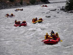 Rafting and White Water Sports in Chamonix