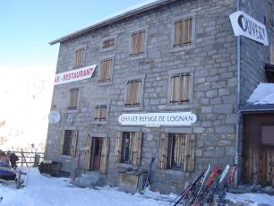 The Refuge of Lognan at the Grands Montets ski resort