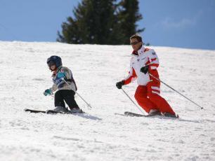 Apprentissage du Ski pour les enfants à Chamonix
