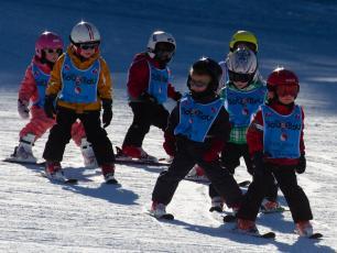 Ski pour les enfants à Chamonix