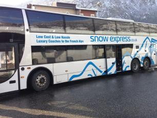 Snowexpress Coach to Chamonix