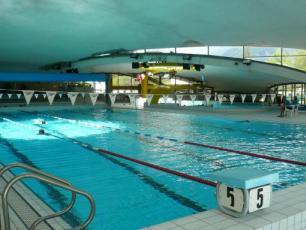 Swimming Pool in Chamonix