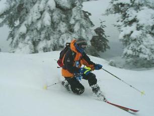 Télémark dans la Vallée de Chamonix