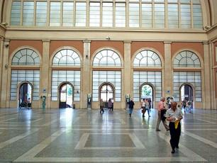 Entrance Hall of Porta Nuova Rail Station