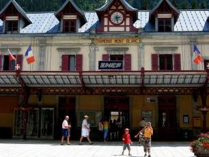 The SNCF Train Station, Chamonix
