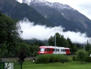 Regional Train in Chamonix