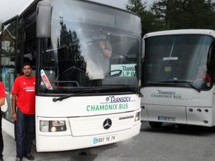 На автобусе до Шамони из разных уголков Франции