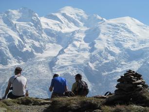 Randonnée dans les Aiguilles de Chamonix